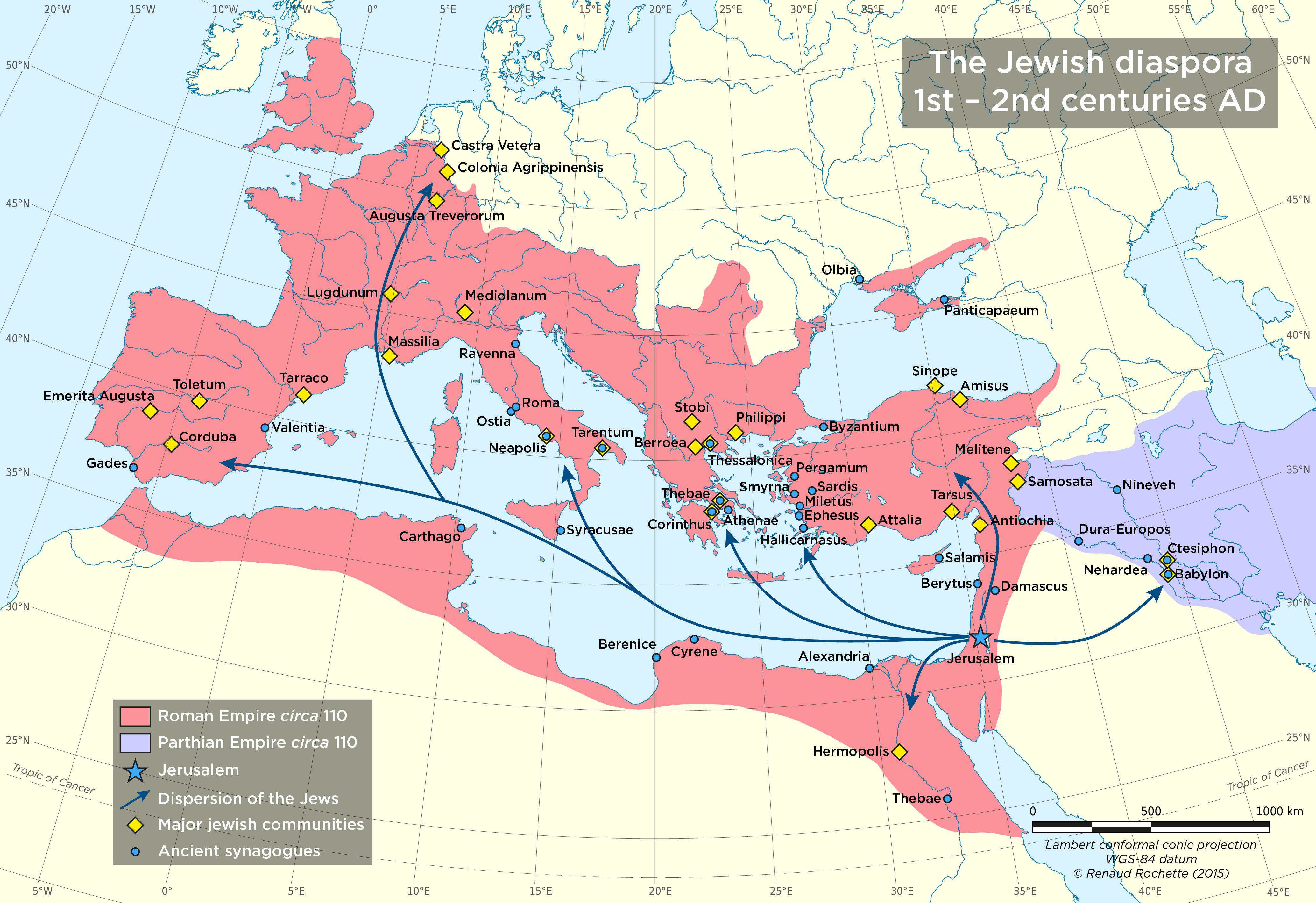 Ancient Jewish History: The Diaspora