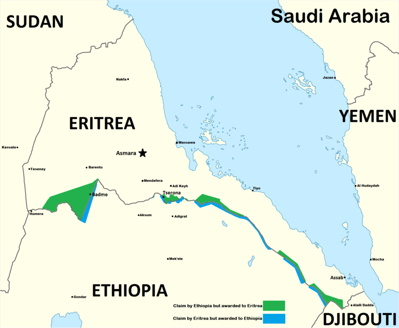 border disputes in 1998 between eritrea and ethiopia Origin in ethiopia and of those deported to eritrea during the 1998- 2000 border  conflict illustrate the  while relations between ethiopia and eritrea are tense.
